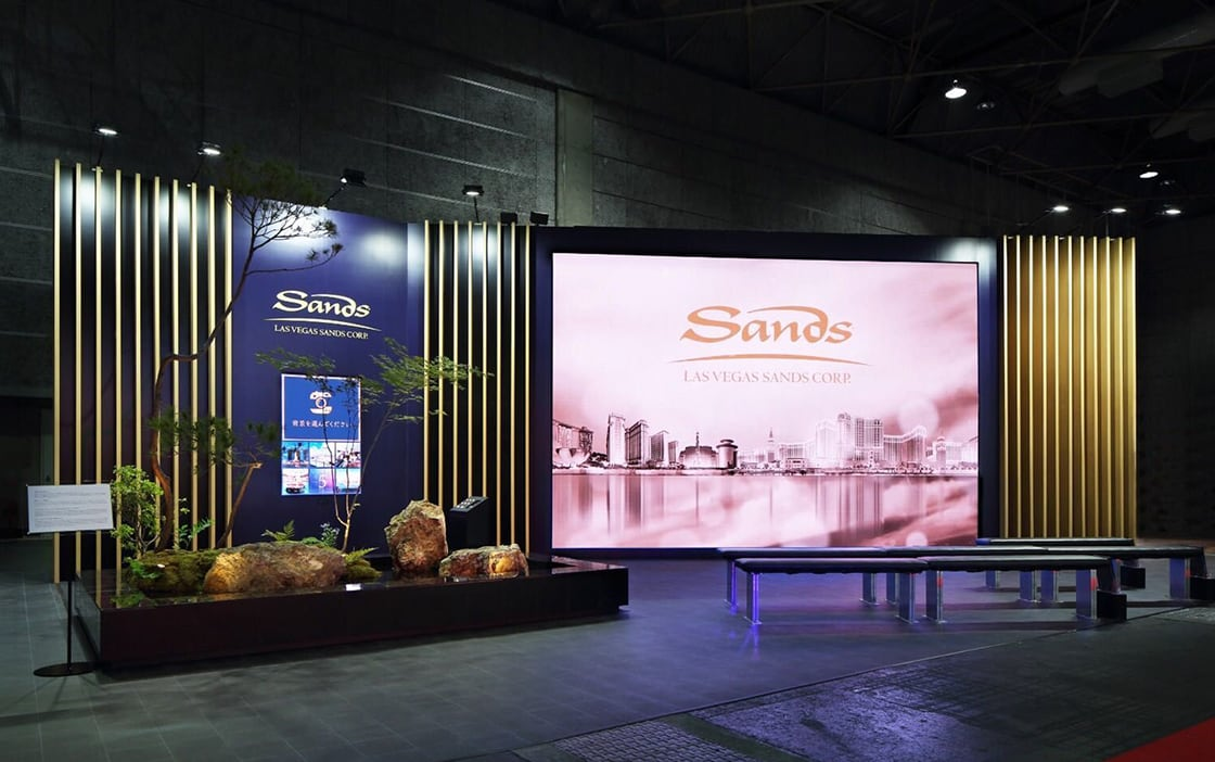 LAS VEGAS SANDS IR EXPO BOOTH for YOKOHAMA / OSAKA
